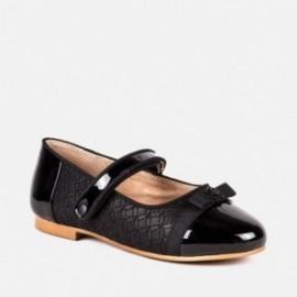 Mayoral 48813-87 Dívčí obuv baletky černá