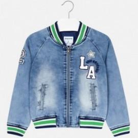 Mayoral 6406-51 Přechodová bunda modré dívčí džíny