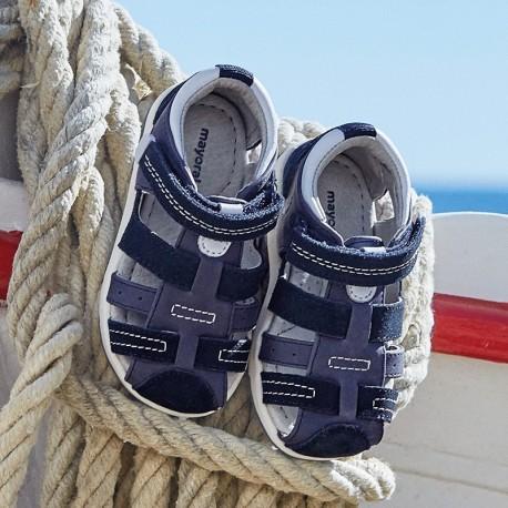 Mayoral 41074-84 Chlapecké modré sandály