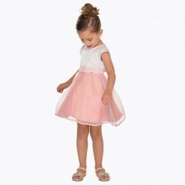 Mayoral 3911-91 Dívčí šaty růžový