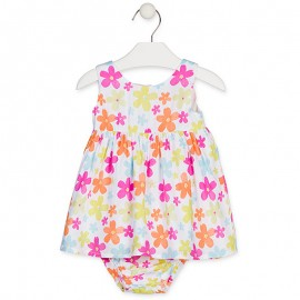 Losan šaty pro dívky bílé 918-7026AA-001