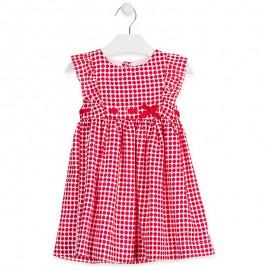 Losan šaty pro dívky bílé 916-7785AA-766
