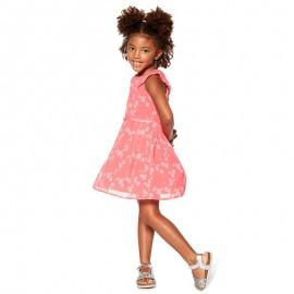 LOSAN Dívčí šaty korálový 916-7799AA-624