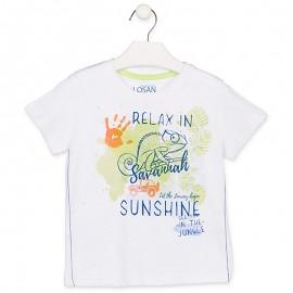 Losan Sportovní tričko pro chlapce bílé 915-1013AA-001