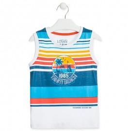 Losan Sportovní tričko pro chlapce bílé 915-1030AA-001