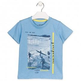 Losan Sportovní tričko chlapecký modrá 915-1004AA-709