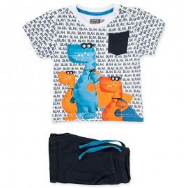 Losan Set T-Shirt I bermuda bílá 917-8012AA-001