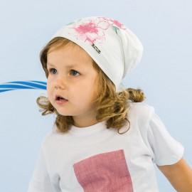 Pupill Dívčí klobouk přechod krém Esme