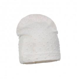 Pupill Dívčí klobouk přechod krém Tina