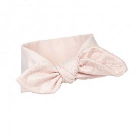 Pupill Dívčí čelenka s růžovou mašlí Poppy