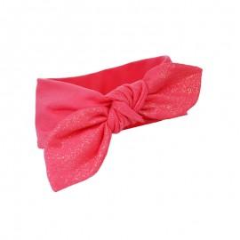 Pupill Dívčí čelenka s červenou mašlí Poppy