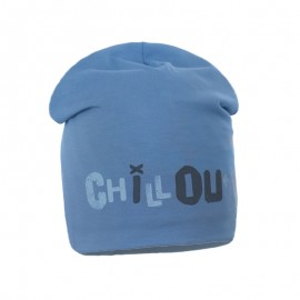 Pupill Chlapci přechodová čepice modrá Stan