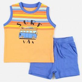 Losan Set pro chlapecké tričko a bermudy bílé 917-8046AA-621