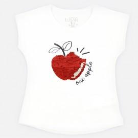 LOSAN Dívčí bílé tričko 916-1211AA-001