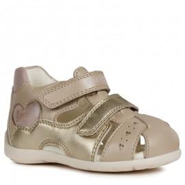Sandály Geox pro dívky béžový B9251A-044AJ-C0303