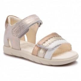 Geox sandály pro dívky zlato B921YB-0MANF-C7018