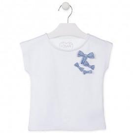 Losan Tričko pro chlapce s krátkým rukávem, bílé 916-1013AA-001