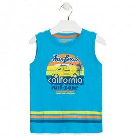 Losan tričko chlapecké tyrkysové 915-1211AA-612
