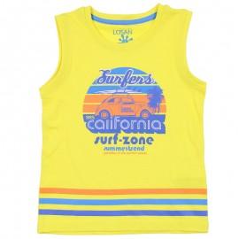 Losan Chlapecké tričko na popruzích žlutá 915-1211AA-011