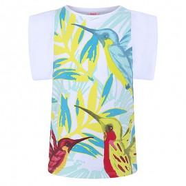 Dívčí tričko s rukávem bílá Tuc Tuc 49817-6