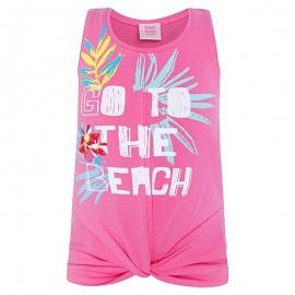 Dívčí tričko na popruzích růže Tuc Tuc 49825-1