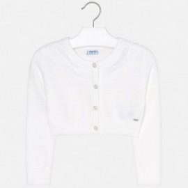 Mayoral 3302-79 Dívčí svetr bílá