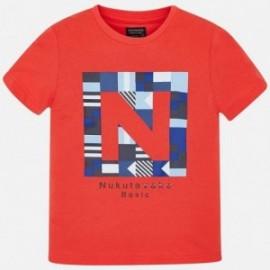 Mayoral 840-61 Sportovní tričko chlapců červená