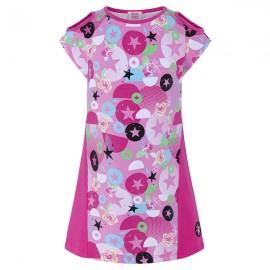 Dívčí šaty bavlněné růžové Tuc Tuc 49940-1