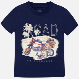 Mayoral 6036-62 tričko chlapci barva námořnictva