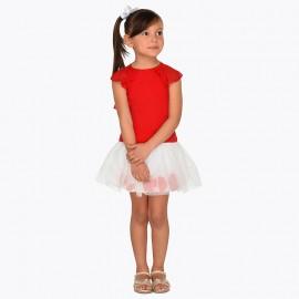 Mayoral 3955-37 Dívčí set červená barva