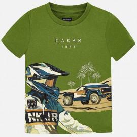 Mayoral 6037-81 Tričko chlapec zelené barvy