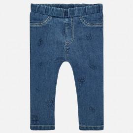 Mayoral 1519-27 Dívčí kalhoty barva modrý