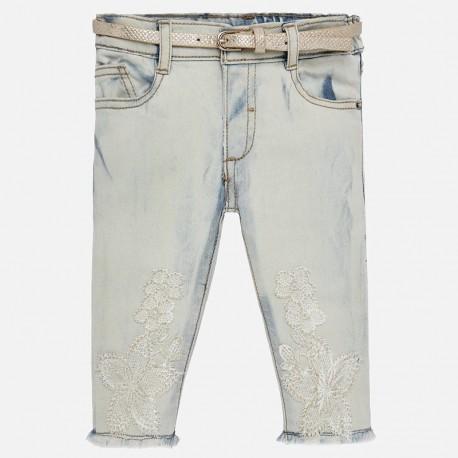 Mayoral 1516-61 Dívčí kalhoty barva modrý