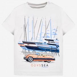 Mayoral 1020-38 Chlapčenská košile bílé barvy