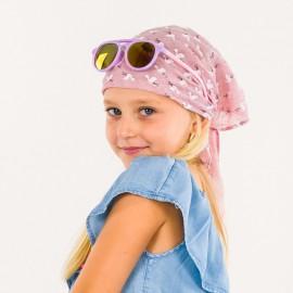 Dívčí trojúhelník bandana pro letní růžové Pupill HOLLIDAY
