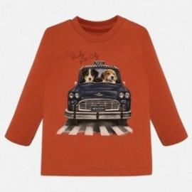 Tričko s dlouhým rukávem pro chlapce Mayoral 2020-94