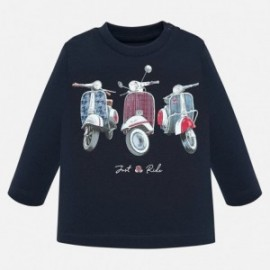 Tričko s dlouhým rukávem pro chlapce Mayoral 2028-20