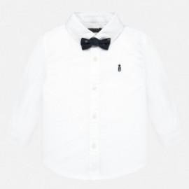 Košile s dlouhým rukávem s chlapčenským motýlkem Mayoral 2111-35