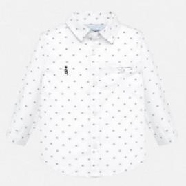 Košile s dlouhým rukávem žakárový chlapec Mayoral 2114-46