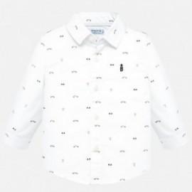 Košile s dlouhým rukávem ve vzorcích chlapce Mayoral 2115-41