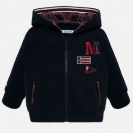 Bavlněná mikina kapuce na zip pro chlapce Mayoral 2458-81