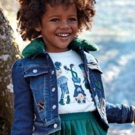 Tričko s dlouhým rukávem pro dívku Mayoral 4013-18