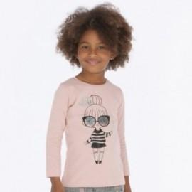 Tričko s dlouhým rukávem pro dívku Mayoral 4016-63