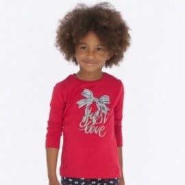 Tričko s dlouhým rukávem pro dívku Mayoral 4016-64