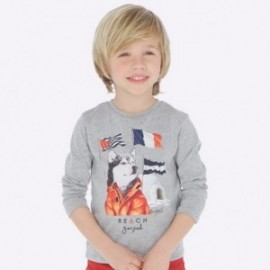 Tričko s dlouhým rukávem chlapce Mayoral 4035-21