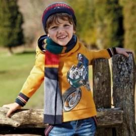 Mikina s kapucí pro chlapce Mayoral 4429-80