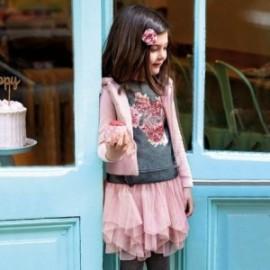 Sada halenka a sukně z tylu pro dívku Mayoral 4951-70