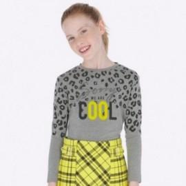 Tričko s dlouhým rukávem pro dívky Mayoral 7009-35