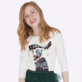 Tričko s dlouhým rukávem pro dívku Mayoral 7014-10