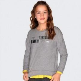 Bavlněná halenka s dívčím nápisem Mayoral 7405-81